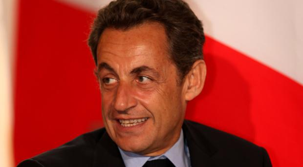 Nicolas Sarkozy is one of the candidates standing in the primary