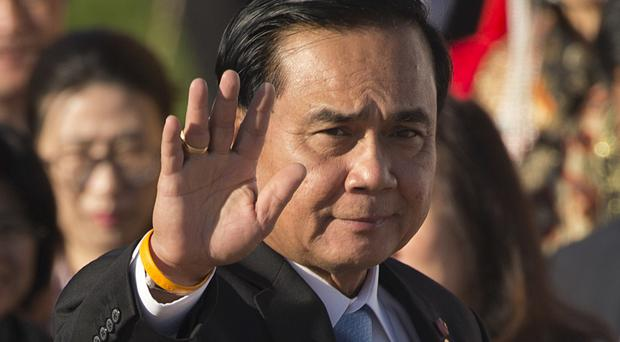 Prayuth Chan-ocha said:
