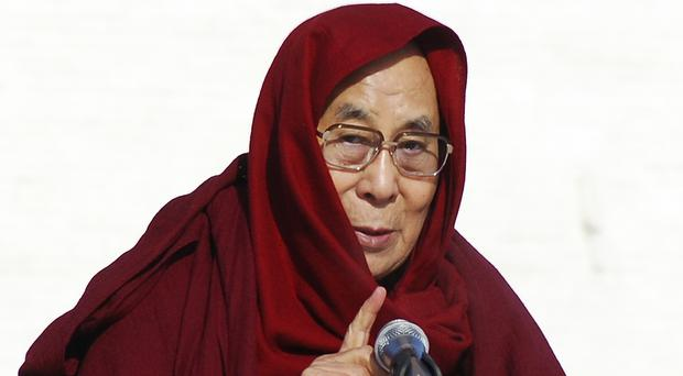 The Dalai Lama speaks in Mongolia (AP)