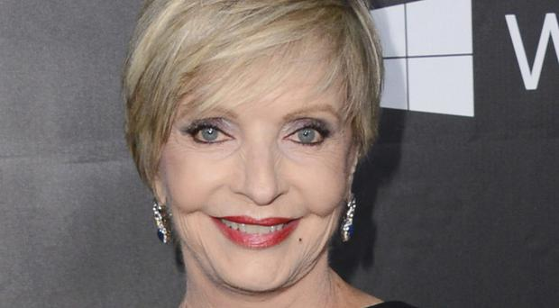 Florence Henderson, pictured in 2014 in Los Angeles, has died aged 82 (AP)