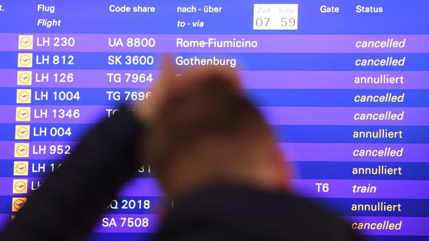 Lufthansa pilot strike forces 1800 flight cancellations