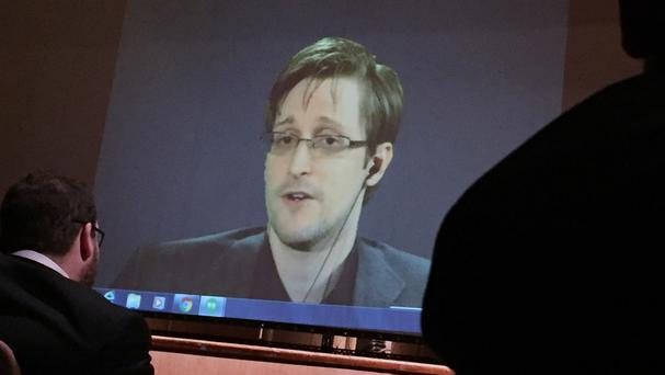 Edward Snowden faces charges in the US that could land him in prison for up to 30 years (AP)