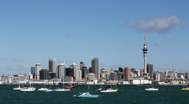 The boat accident happened near Auckland