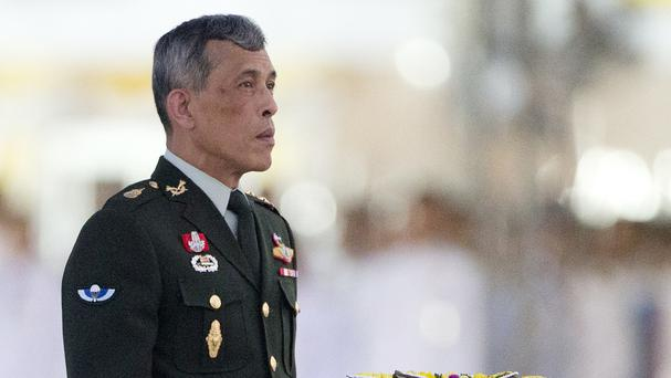 Crown Prince Vajiralongkorn is to succeed his late father Bhumibol Adulyadej (AP)