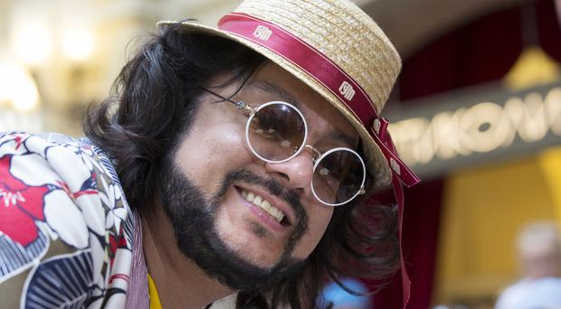 Filipp Kirkorov has been a household name in Russia since the early 1990s (AP)