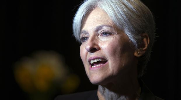 Ms Stein has also sought a recount in Wisconsin and Pennsylvania (AP)