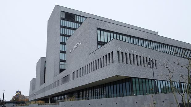 The Europol headquarters in The Hague, Netherlands (AP)