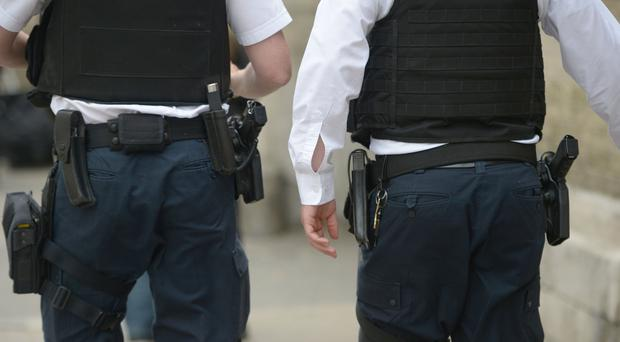 Armed police responded to the shooting in Finland