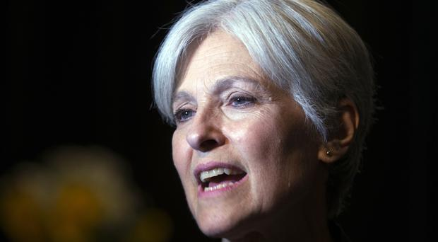 Green Party presidential candidate Jill Stein won about 1% of the Michigan vote (AP)
