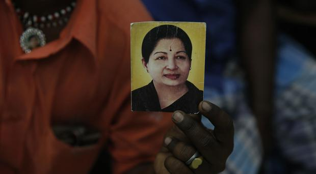 Jayaram Jayalalithaa inspired intense loyalty among film and political fans alike (AP)