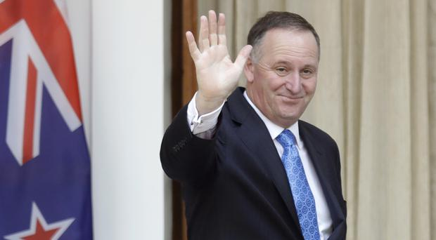 John Key was widely expected to contest a fourth straight election next year (AP)