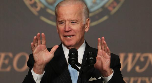 Joe Biden said his decision not to run in 2016 was right for his family (AP)