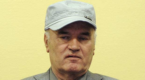 Ratko Mladic is on trial (AP)