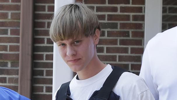 Dylann Roof is accused of shooting dead nine people at a Charleston church in June 2015 (AP)
