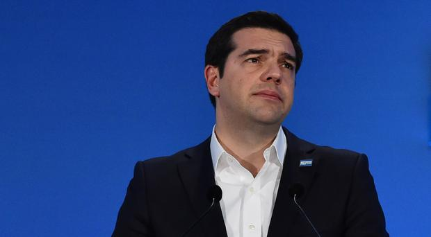 Greek Prime Minister Alexis Tsipras is forecasting growth next year