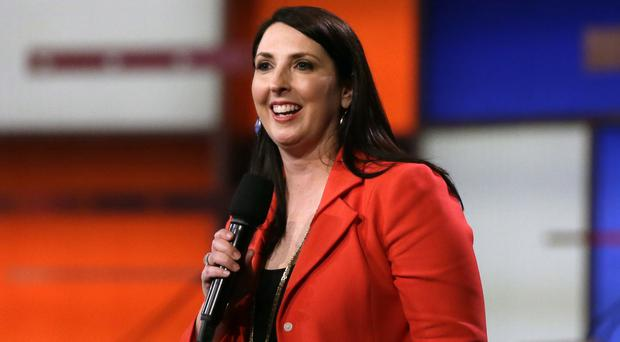 Ronna McDaniel has been rewarded by Donald Trump with the Republican national chairmanship (AP)