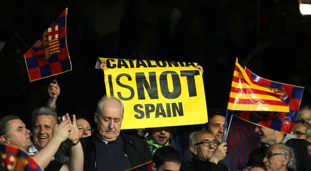 Some Catalonians wants independence from the rest of Spain