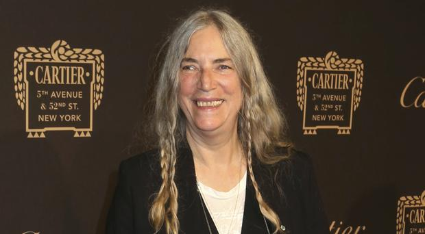 Patti Smith said she was overcome with emotion at the Nobel ceremony (Invision/AP)