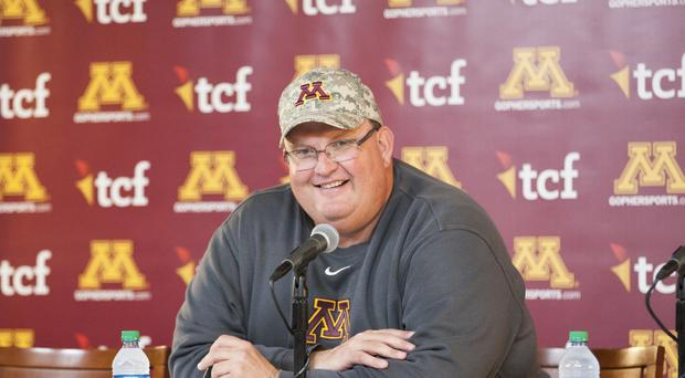 Minnesota head coach Tracy Claeys (AP/Paul Battaglia)