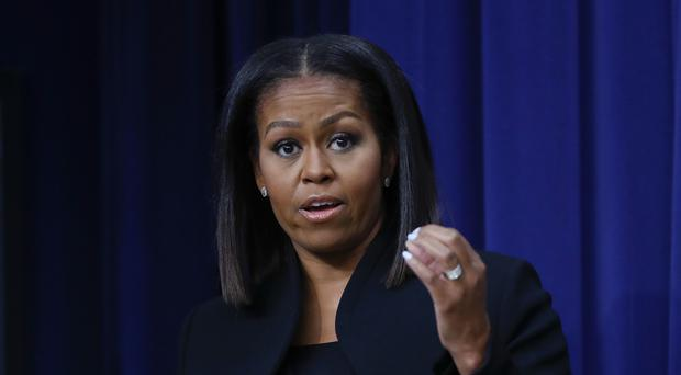 First lady Michelle Obama said it is important to have hope