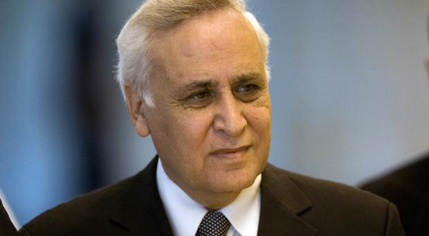Katsav was convicted of rape in 2011 (AP)