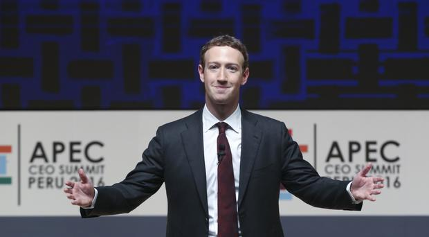 Zuckerberg posted updates on his AI assistant on his Facebook page (AP)