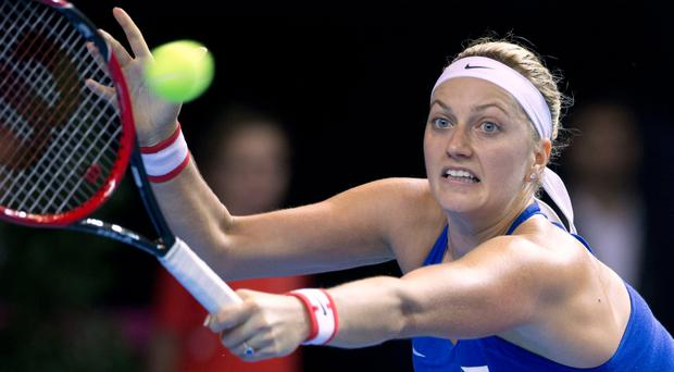 Attacked: Petra Kvitova