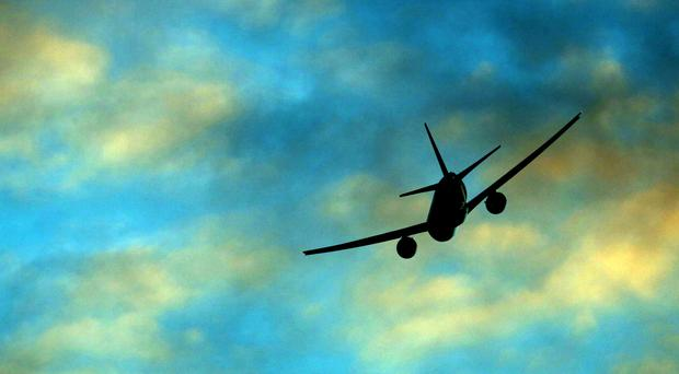 Airlines were rerouting flights because of the eruption