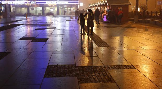 The killings took place in the centre of Sarajevo (AP)