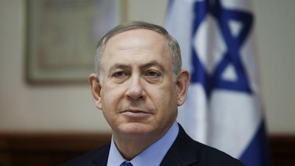 Mr Netanyahu has hit out at the reports (AP)