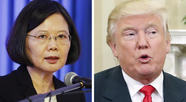Taiwan's president Tsai Ing-wen has already spoken to US president-elect Donald Trump (AP)