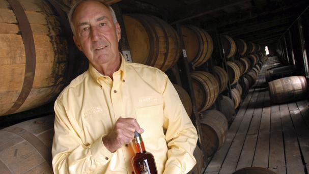 Parker Beam at the Bardstown distillery in 2006 (AP)