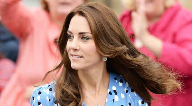 Style icon: The Duchess of Cambridge is on the Harper's Bazaar list of the world's most fashionable women
