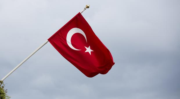 Gunfire has been heard near a police station in the Turkish city of Gaziantep