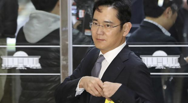 Lee Jae-yong and members of his family were the biggest beneficiaries of the merger of Samsung C&T and Cheil Industries (AP)