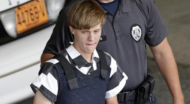 Dylann Roof has been sentenced to death for shooting dead nine black people in a church (AP/Chuck Burton)