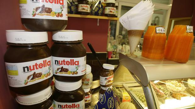Ferrero has launched an advertising campaign in an attempt to reassure people that Nutella is safe (AP)