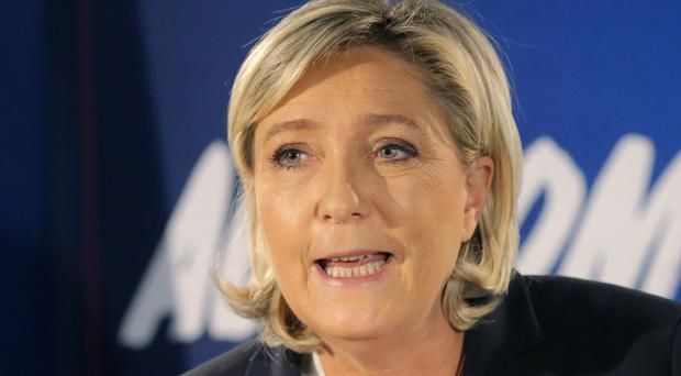 Marine Le Pen has described Donald Trump's victory as a sign of hope for her own campaign (Michel Euler/AP)