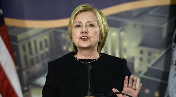 Democrats claim the handling of the case ruined Hillary Clinton's hopes of winning the election (Sait Serkan Gurbuz/AP)