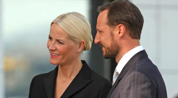 Crown Prince Haakon of Norway and Crown Princess Mette-Marit married in 2001