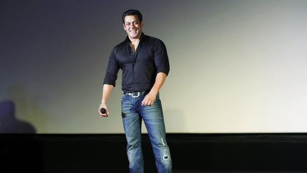 Bollywood actor Salman Khan, who has been acquitted of using unlicensed arms while hunting in a wildlife preserve (AP)