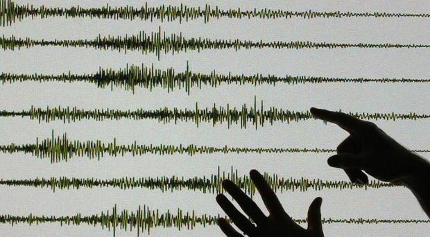 The quakes struck in central Italy