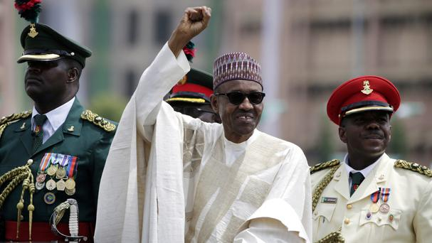 Nigerian leader Muhammadu Buhari is heading to Britain (AP/Sunday Alamba)