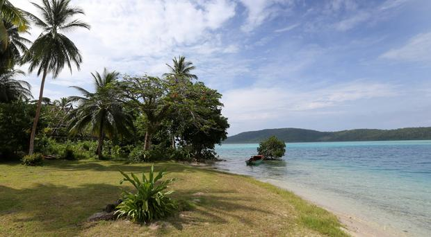 The Solomon Islands are located in the Pacific's geologically active