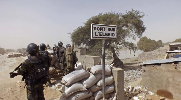 Nigerian Air Force fighter jet on a mission against Boko Haram extremists mistakenly bombed a refugee camp (AP)