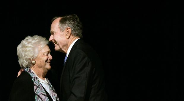 George and Barbara Bush have the longest marriage of any US presidential couple (AP)