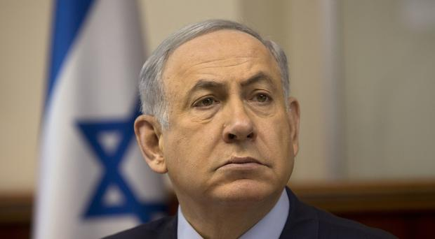 Pro-settlement Israeli politicians such as prime minister Benjamin Netanyahu have been emboldened by Donald Trump becoming US president (AP)