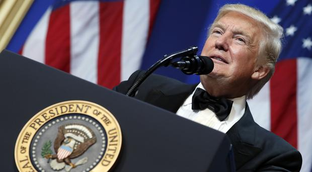 The sales boost came after Donald Trump's assertions that his inauguration had record attendance and millions of illegal votes were cast against him (AP)