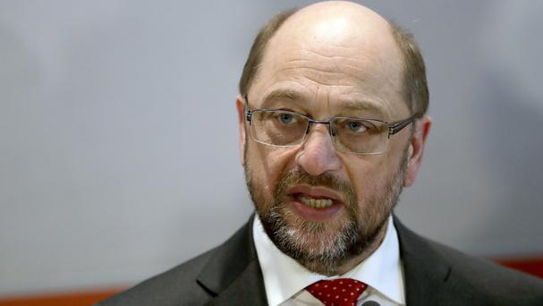 Martin Schulz has spoken out against anti-immigrant populism that has boosted the nationalist Alternative for Germany party in recent years (AP)