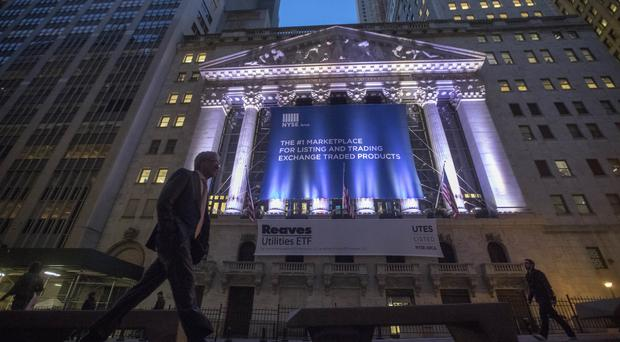 The Dow Jones industrial average fell 122.65 points, or 0.6%, to 19,971.13 (AP)
